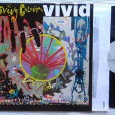 Discos de vinilo: LIVING COLOUR - '' VIVID '' LP + INNER ORIGINAL EU HOLLAND 1988. Lote 57805751