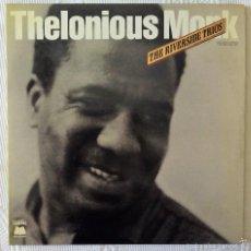 Discos de vinilo: THELONIOUS MONK, THE RIVERSIDE TRIOS (MILESTONE) 2 X LP FRANCIA - PLAYS DUKE ELLINGTON - UNIQUE. Lote 59522739
