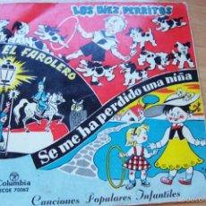 Discos de vinilo: CANCIONES INFANTILES (1958 COLUMBIA 45 RPM). Lote 59530783