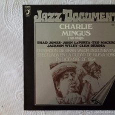 Disques de vinyle: CHARLES MINGUS Y SUS AMIGOS (DISCOPHON) LP ESPAÑA - CHARLIE TEO MACERO THAD JONES. Lote 59534719