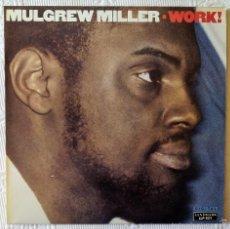 Discos de vinilo: MULGREW MILLER, WORK (LANDMARK) LP SUIZA. Lote 59535591