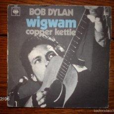 Discos de vinilo: BOB DYLAN - WIGWAM + COPPER KETTLE. Lote 59560087