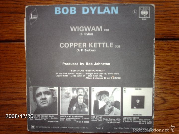 Discos de vinilo: bob dylan - wigwam + copper kettle - Foto 3 - 59560087