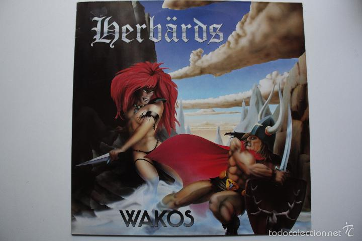 HERBARDS - WAKOS- GERMAN LP 1986- PUNK OI!. (Música - Discos - LP Vinilo - Punk - Hard Core)
