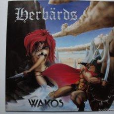 Discos de vinilo: HERBARDS - WAKOS- GERMAN LP 1986- PUNK OI!.. Lote 59566623