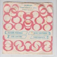 Discos de vinilo: SINGLE VINILO,PROMO,DINAMIK GROUP,UNA LOCURA,TONTAMENTE,DIAS CONTADOS,ILUSIÓN PERDIDA,SAN DIEGO 1975. Lote 59594771