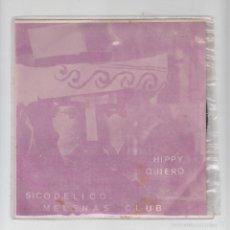 Discos de vinilo: SINGLE VINILO,PROMO,FRANK MILLER Y SU ORQUESTA,SICODÉLICO,HIPPY,MELENAS CLUB,QUIERO,SAN DIEGO 1975. Lote 59598883