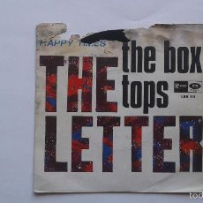 Discos de vinilo: THE BOX TOPS - THE LETTER - SG - EMI STRATESIDE - LSS 613 . Lote 59599987