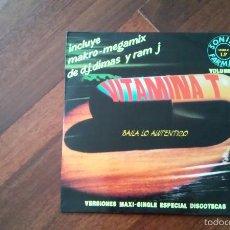 Discos de vinilo: VITAMINA T VOLUMEN 1-2 LP. Lote 59608867