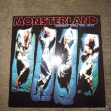 Discos de vinilo: MONSTERLAND - DESTROY WHAT YOU LOVE. Lote 59612943
