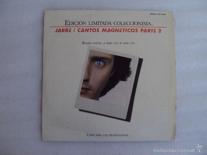 JARRE , CANTOS MAGNETICOS PARTE 2, LP EDICION LIMITADA COLECCIONISTAS, EDICION ESPAÑOLA POLYDOR 1981 (Música - Discos de Vinilo - Maxi Singles - Pop - Rock - New Wave Extranjero de los 80)