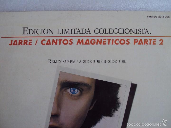 Discos de vinilo: JARRE , CANTOS MAGNETICOS PARTE 2, LP EDICION LIMITADA COLECCIONISTAS, EDICION ESPAÑOLA POLYDOR 1981 - Foto 2 - 59646599