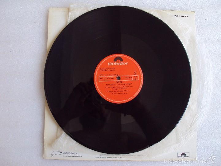 Discos de vinilo: JARRE , CANTOS MAGNETICOS PARTE 2, LP EDICION LIMITADA COLECCIONISTAS, EDICION ESPAÑOLA POLYDOR 1981 - Foto 4 - 59646599