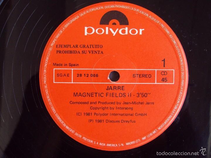 Discos de vinilo: JARRE , CANTOS MAGNETICOS PARTE 2, LP EDICION LIMITADA COLECCIONISTAS, EDICION ESPAÑOLA POLYDOR 1981 - Foto 6 - 59646599