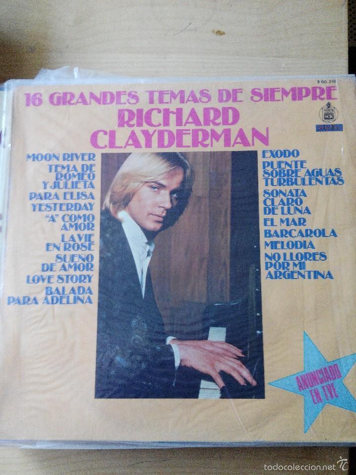 discografia de richard clayderman para