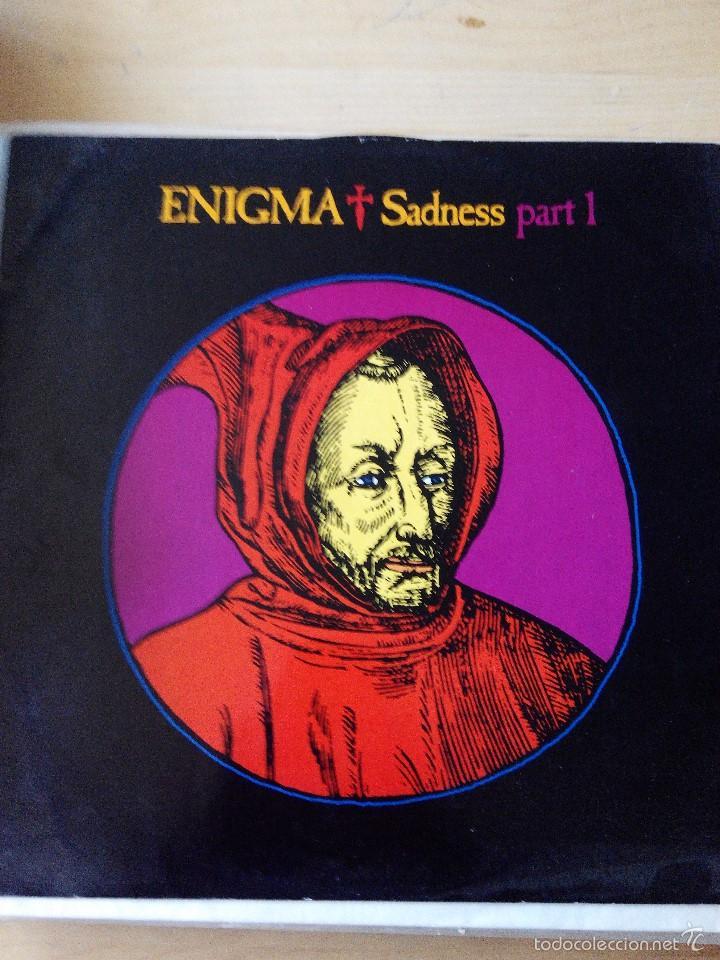 ENIGMA - SADNESS PART 1 (Música - Discos de Vinilo - Maxi Singles - Electrónica, Avantgarde y Experimental)