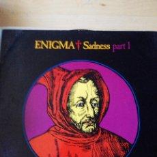 Discos de vinilo: ENIGMA - SADNESS PART 1. Lote 59652535