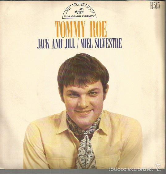TOMMY ROE SINGLE SELLO HISPAVOX EDITADO EN ESPAÑA AÑO 1969 (Música - Discos - Singles Vinilo - Pop - Rock - Extranjero de los 70)
