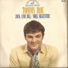 Discos de vinilo: TOMMY ROE SINGLE SELLO HISPAVOX EDITADO EN ESPAÑA AÑO 1969. Lote 59653503