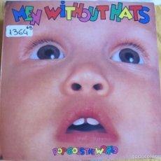 Discos de vinil: LP - MEN WITHOUT HATS - POP GOES THE WORLD (SPAIN, MERCURY RECORDS 1988). Lote 59659459