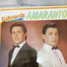 Discos de vinilo: AMARANTO-DIFERENTE-1989. Lote 59663703