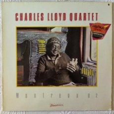 Discos de vinilo: CHARLES LLOYD QUARTET, MONTREUX 82 (ELEKTRA) LP ALEMANIA - MICHEL PETRUCCIANI PALLE DANIELSSON. Lote 59665723