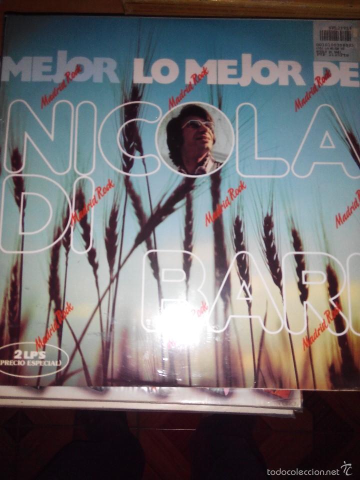 NICOLA DI BARI - LO MEJOR DE SUS CANCIONES 2 LPS (Música - Discos - LP Vinilo - Canción Francesa e Italiana)