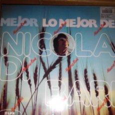 Discos de vinilo: NICOLA DI BARI - LO MEJOR DE SUS CANCIONES 2 LPS. Lote 59669855