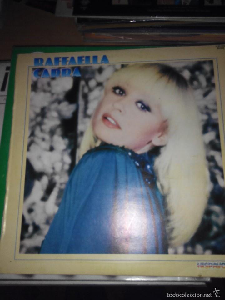 RAFFAELLA CARRA - HISPAVOX LP VINILO (Música - Discos - LP Vinilo - Canción Francesa e Italiana)