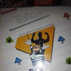 Discos de vinilo: MAGIC DISNEY AND THE ROYAL PHILHARMONIC ORCHESTRA - SUPER SINGLE VINILO. Lote 59672175