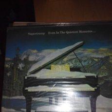 Discos de vinilo: SUPERTRAMP - EVEN IN THE QUIETEST MOMENTS.. LP VINILO. Lote 59672819