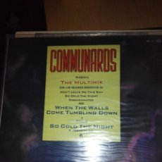 Discos de vinilo: COMMUNARDS- THE MULTIMIX - SUPER SINGLE VINILO. Lote 118616815