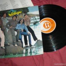 Disques de vinyle: COLLAGE LP POCO A POCO ME ENAMORE DE TI,DEL 78, CON ENCARTE CANCIONES CON TEMAS EN ESPAÑOL. Lote 59676647