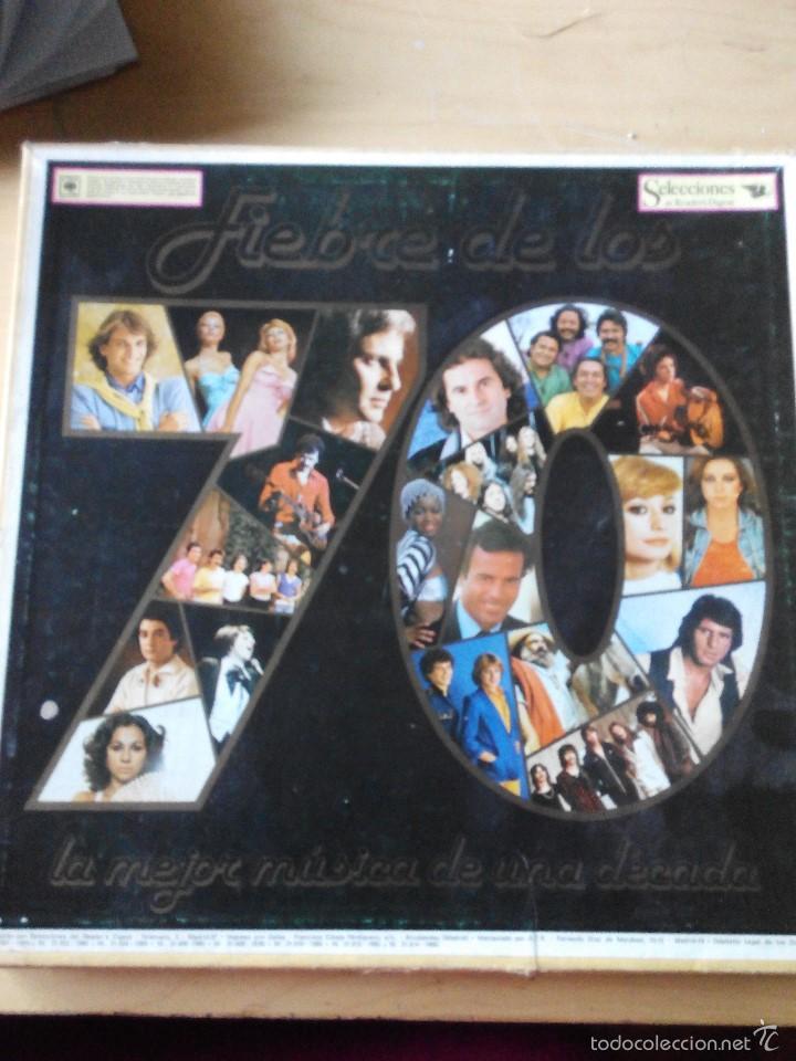 LO MEJOR DE LOS 70 - 8 LPS VINILO CON LA RECOPILACION DE LOS MEJORES TEMAS DE UNA DECADA (Música - Discos de Vinilo - EPs - Grupos Españoles de los 70 y 80)