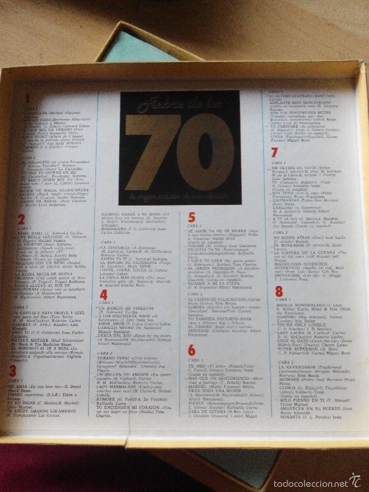 Discos de vinilo: LO MEJOR DE LOS 70 - 8 LPS VINILO CON LA RECOPILACION DE LOS MEJORES TEMAS DE UNA DECADA - Foto 2 - 59679231
