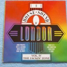 Discos de vinilo: THE HOUSE SOUND OF LONDON,VOL.4 DOBLE LP EDICION ESPAÑOLA DEL 89. Lote 59681195