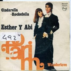 Discos de vinilo: ESTHER Y ABI OFARIM / CINDARELLA ROCKEFELLA / WANDERLOVE (SINGLE 1968). Lote 59683127