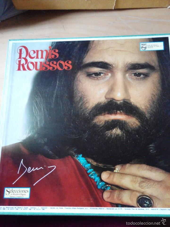 DEMIS ROUSSOS - 4 LPS VINILOS COMPILACION DE SUS EXITOS EN ESTUCHE (Música - Discos - LP Vinilo - Cantautores Extranjeros)