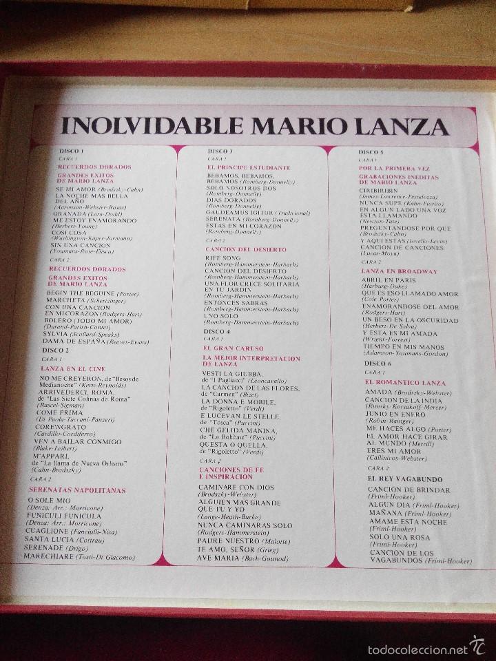 Discos de vinilo: INOLVIDABLE MARIO DANZA - 6 LPS VINILO EN ESTUCHE LUJO - Foto 2 - 59686819