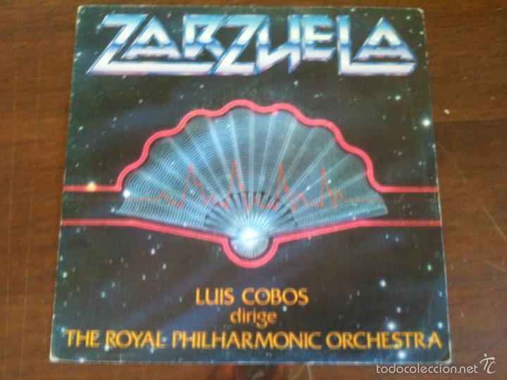 ZARZUELA LUIS COBOS (Música - Discos - Singles Vinilo - Clásica, Ópera, Zarzuela y Marchas)