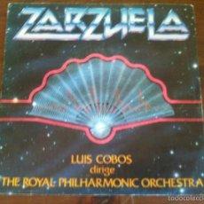 Discos de vinilo: ZARZUELA LUIS COBOS. Lote 59690187