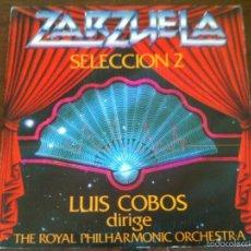 Discos de vinilo: ZARZUELA LUIS COBOS. Lote 59690231
