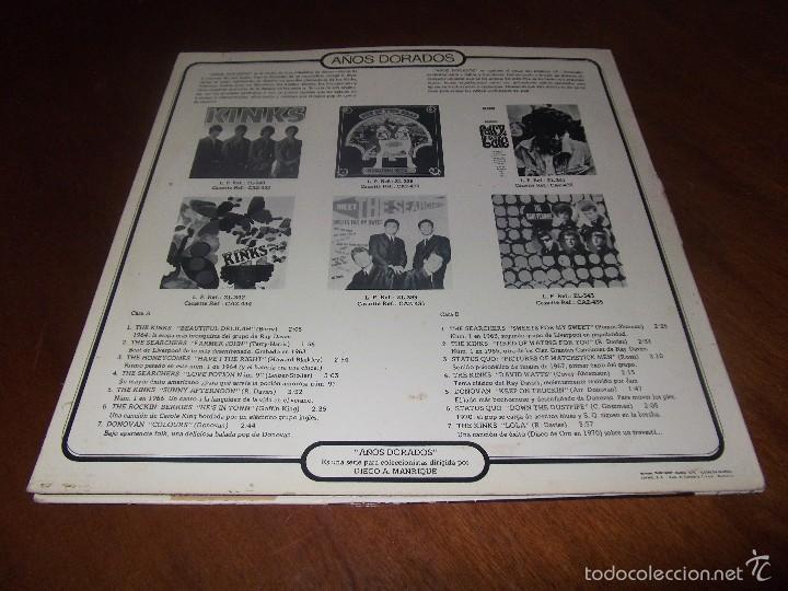 Discos de vinilo: AÑOS DORADOS--1980-ZAFIRO- KINKS/ SEARCHERS/ THE HONEYCOMES/ ROCKI BERRIES/ DONOVAN /STATUS QUO / - Foto 2 - 59690715