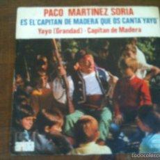 Dischi in vinile: PACO MARTINEZ SORIA. Lote 59691095