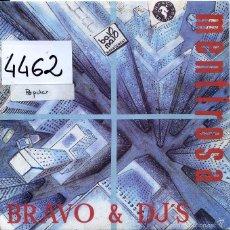 Discos de vinilo: BRAVO & DJ'S / MENTIROSA (2 VERSIONES) SINGLE PROMO 1990. Lote 59703555