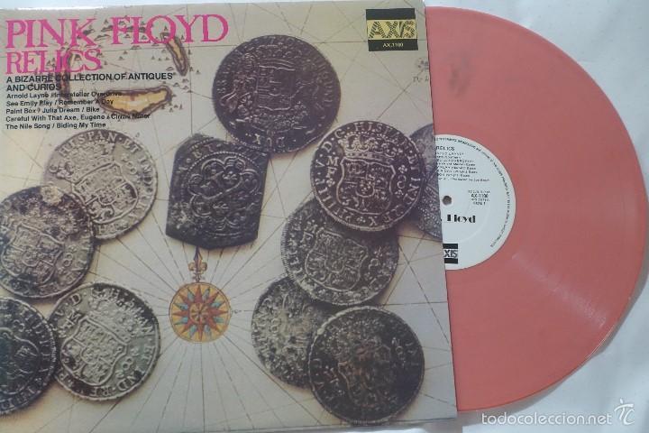 PINK FLOYD - LP RELICS A BIZARRE COLLECTION OF ANTIQUES & CURIOS - VINILO ROSA - NUEVO (Música - Discos - LP Vinilo - Pop - Rock - Extranjero de los 70)