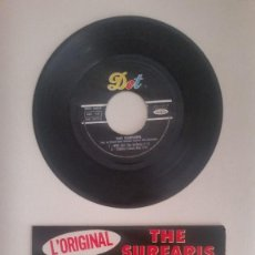 Discos de vinilo: THE SURFARIS, CHUCK RIO, HAZLEWOOD EDDY, J.SMITH ?– WIPE OUT, TEQUILA, YEP, WALK DON'T RUN. MUY RARO. Lote 59704535