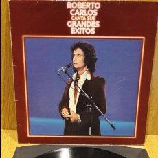 Disques de vinyle: ROBERTO CARLOS CANTA SUS GRANDES ÉXITOS. LP / CBS - 1978 / BC. ***/***. Lote 59708203