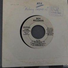 Discos de vinil: M X M NOTHING COMPARES (DISCO DIFICIL) . Lote 59712483