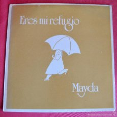 Discos de vinilo: ERES MI REFUGIO - MAYDA GARCES - 1985 - CROSS-OVER INC - MIAMI TAPE INC - MIAMI FLORIDA U.S.A.. Lote 59720347